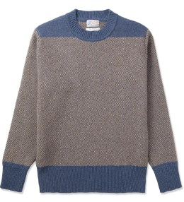 GARBSTORE Brown Chindit Crewneck Sweater Picture