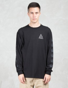 HUF Huf x 420 Swords Triple Triangle L/S T-Shirt Picture