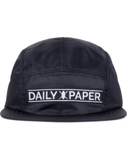 Daily Paper Black Strap Logo 5 Panel Cap Picture