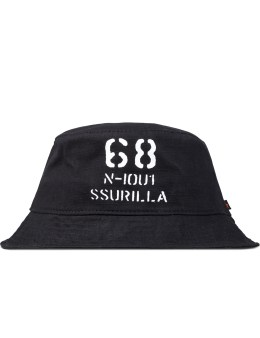 SSUR Black 68 Ripstop Bucket Hat Picture