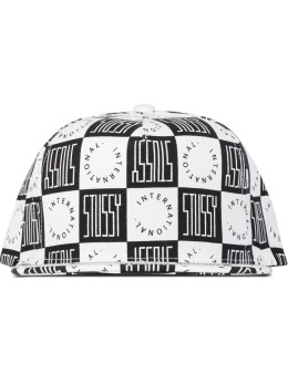 Stussy Block Check Cap Picture