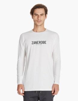 ZANEROBE White Sln L/s T-shirt Picture