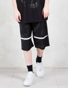 ASTRID ANDERSEN Side Tapered Logo Basketball Shorts Picture