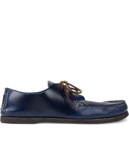 Yuketen C Blue 2PCS Oxford Shoes Picture