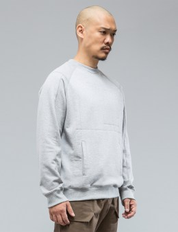 ACRONYM S14-BR Cotton Crewneck Sweatshirt Picture