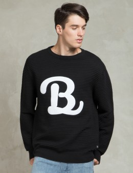 Barney Cools Black B. Schooled Knit Sweater Picture