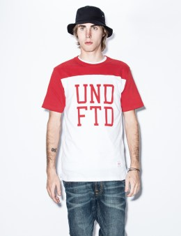 UNDEFEATED Red UNDFTD Football T-Shirt Picture