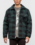 Warren Lotas Hammer Plaid Sherpa Jacket Picture
