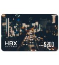 HBX Gift Card $200 Picture