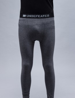 UNDEFEATED Dark Grey Heather Basic Running II Pants Picture