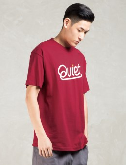 The Quiet Life Red Script T-shirt Picture