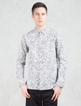 LAD MUSICIAN Broad Inkjet Spray Shirt Picture