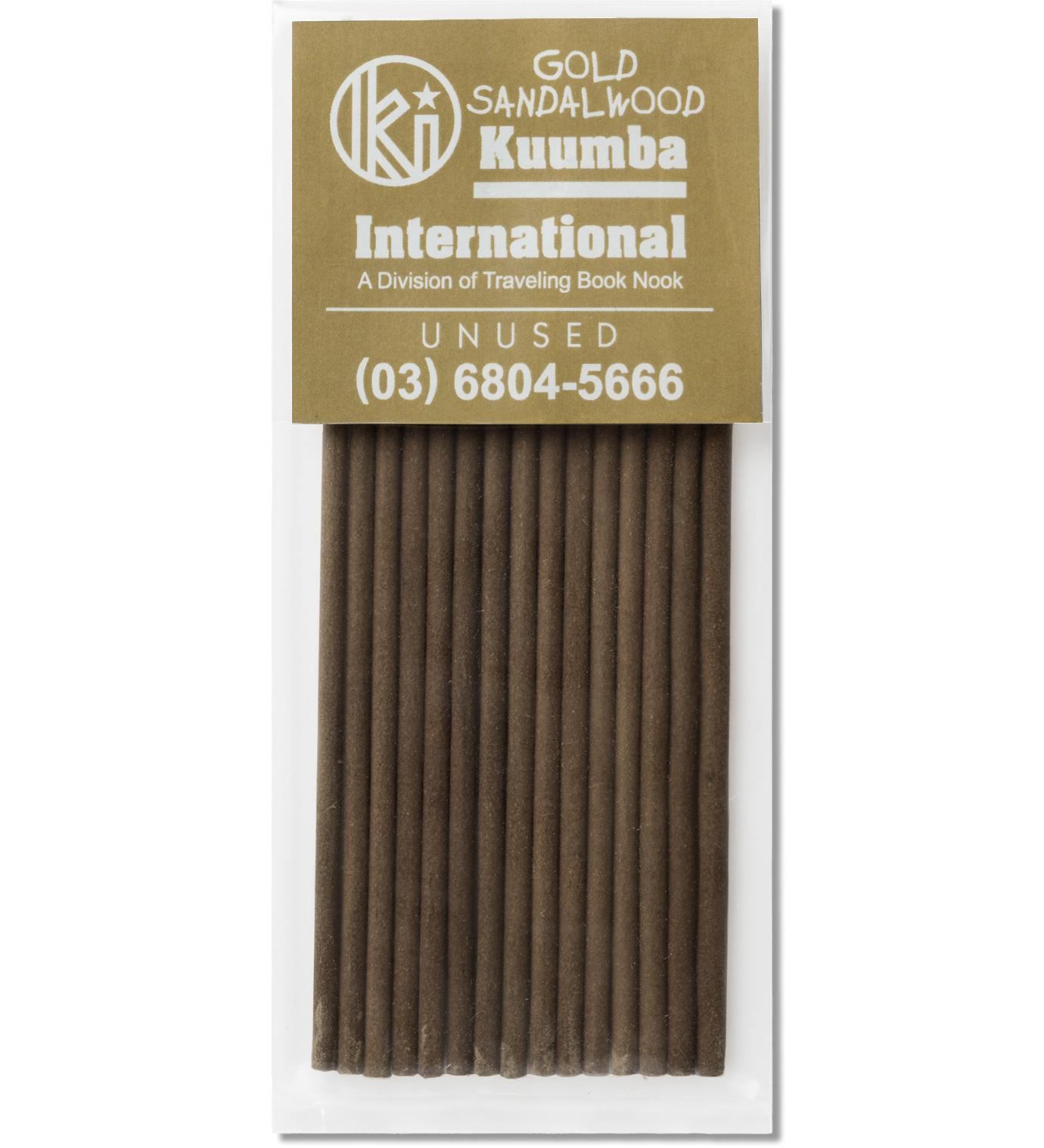 UNUSED Gold Sandalwood Incense