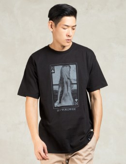 HUF Black Huf Card T-shirt Picture