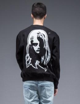 SAM by Warren Lotas Black Crewneck Sweatshirt Style B (Size S) Picture