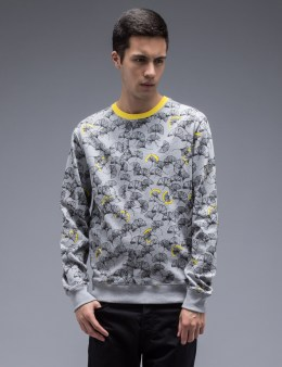 CARVEN Ginkgo Pattern Sweatshirt Picture