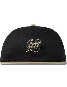 Benny Gold Black Signature Script Polo Cap Picture
