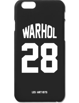 LES (ART)ISTS Black WARHOL28 iPhone6 Case Picture