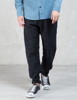 Maiden Noir Canvas Cotton 5-pocket Pants - Slim Fit Picture