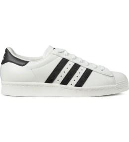 adidas Originals Vintage White/Black Superstar 80s DLX B25963 Shoes Picture