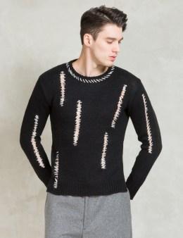 Discovered Black L/S Boro Knit Picture