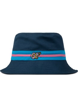 Odd Future Blue OF Logo Bucket Hat Picture