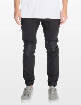 ZANEROBE Black Rip Slingshot Denimo Jeans Picture