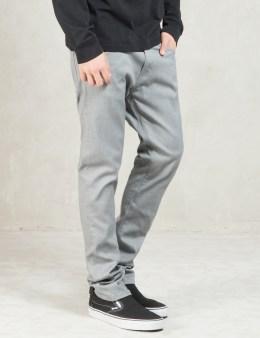 Carhartt WORK IN PROGRESS Grey Rinsed Rebel Pants Picture