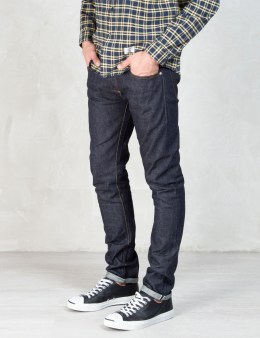 "DELUXE Indigo ""Rude"" Denim Jeans Picture"