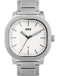 EDWIN Watch Silver With White Dial Anderson Picture