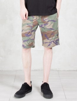 maharishi Reversible Camo Shorts Picture