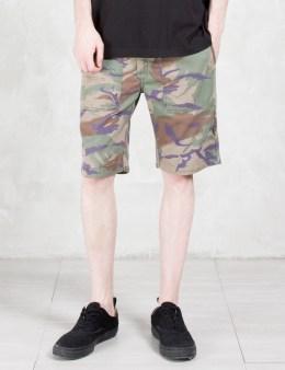 maharishi Reversible Camo Shorts Picture