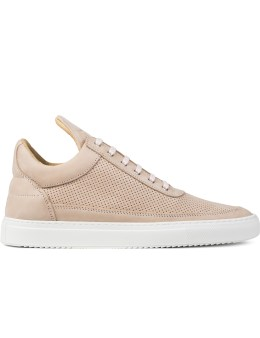 Filling Pieces Perforated Tone Low Top Sneakers Picture