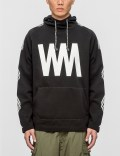"White Mountaineering ""WM"" Printed Fleece Lining Hoodie Picutre"