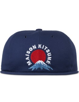 MAISON KITSUNE Mont Fuji Baseball Cap Picture