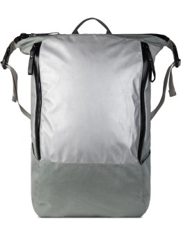Nocturnal Workshop Silver Zip Top Backpack Picture