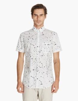 ZANEROBE White/black Splat 7ft S/s Shirt Picture