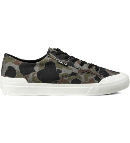 HUF Grey Duck Camo Classic Low Shoes Picture