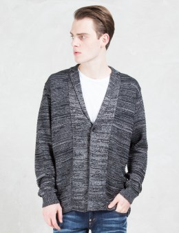 FACTOTUM Argle Knit Jacket Picture