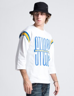 Stussy White Classic Football Jersey Picture