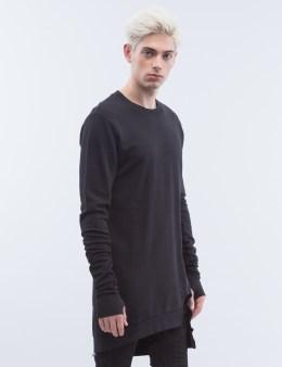thom/krom Asymmetric Bottom Hem Sweater Picture