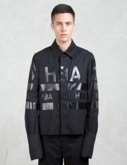 Hood By Air. Logo Stripe Jockey Jacket Picture
