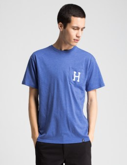 HUF Royal Heather Classic H Pocket T-Shirt Picture