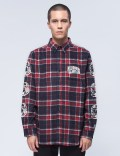 Billionaire Boys Club Helmet Print Flannel Shirt Picture