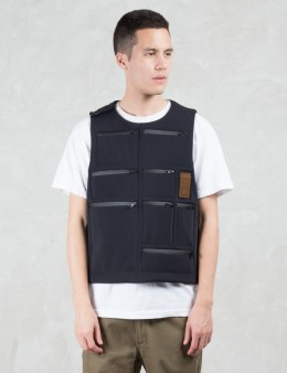 LETASCA Multi Pocket Reversible Pullover Vest Picture