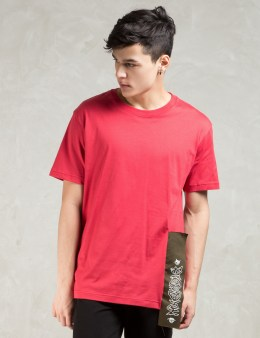 PHENOMENON Red S/S Big Tag T-Shirt Picture