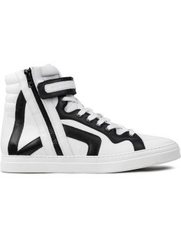 PIERRE HARDY 2 Tone Les Basket Sneakers Picture