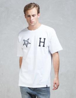 HUF White Huf X Thrasher Team T-shirt Picture