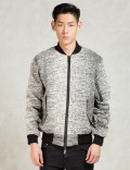 REPRESENT Clothing Grey Oblivion Bomber Picture