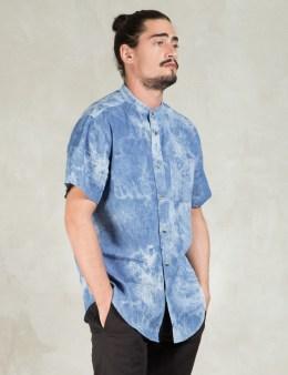 10.DEEP Light Bleach Tubes Bleach Dyed Chambray Shirt Picture